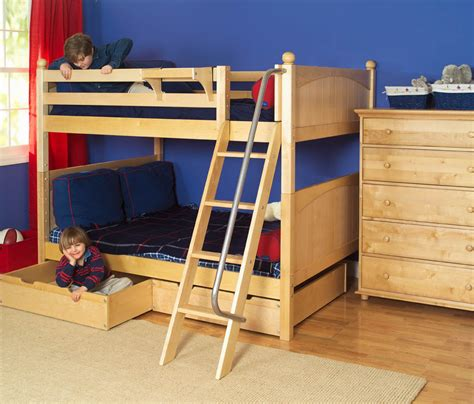 boy loft bed natural boys bunk bed by maxtrix kids 700 0