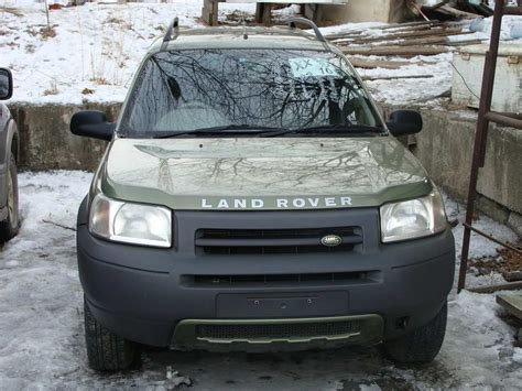 land rover freelander 2000 2000 land rover freelander photos 2 5 gasoline