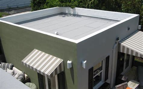 flat roof flat roof with screed waterproofing for new professionals