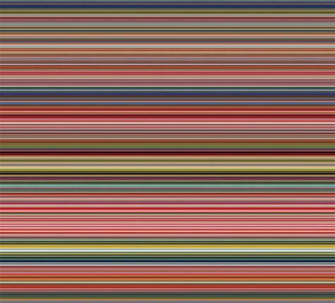 13897 Stripe Color gerhard richter goes digital reducing his paintings