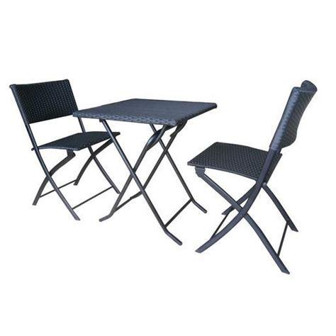 table chaise balcon ensemble table et chaise balcon m 233 tal r 233 sine noir