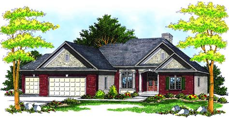 traditional ranch house plan 89156ah architectural
