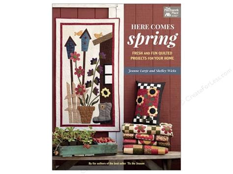 Patchwork Place Books - here comes book createforless