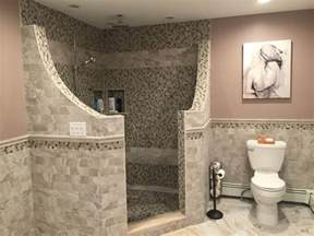Half Bathroom Design Ideas by 50 Best Images About Doorless Showers On Pinterest