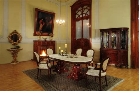 glamorous dining rooms  victorian style