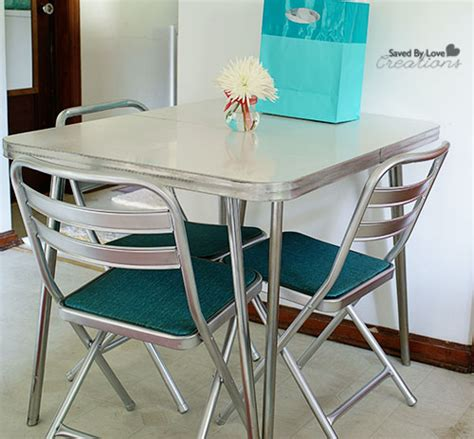 how to clean rust chrome table legs flea market rev how to remove rust from chrome vintage