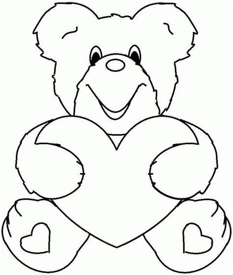 valentine coloring pages kids coloring home