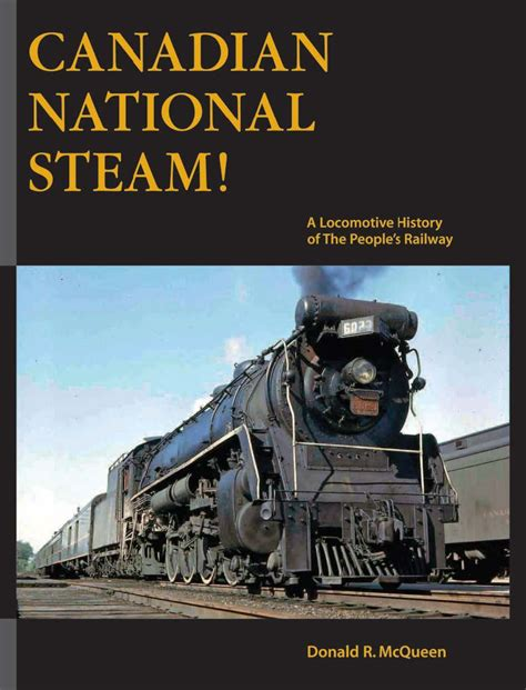locomotive picture book canadian national steam port rowan in 1 64