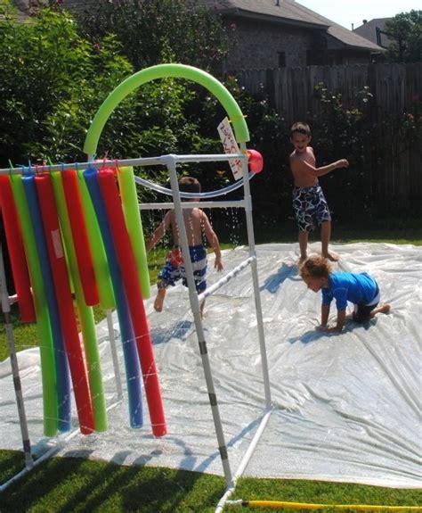 backyard slip n slide 10 of the best diy backyard games for kids women daily