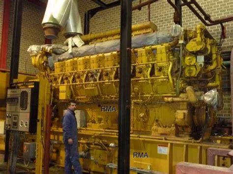 kw caterpillar natural gas engine generator sets   sets  sale