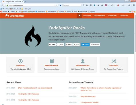 tutorial codeigniter 3 0 ว ธ ต ดต ง codeigniter 3 0 6 บน xp category
