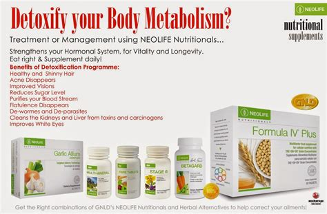 Neolife Healthy Detox by Detoxify Your Metabolism Anchorage Link Services