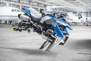 bmw develops real flying motorcycle concept the merkle