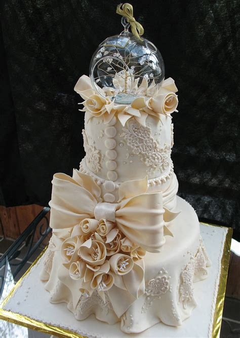New Style Wedding Cakes by Lace Wedding Cakes Part 6 The Magazine