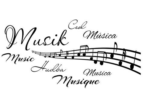 music tattoo png wandtattoo musik in 7 sprachen bei homesticker de