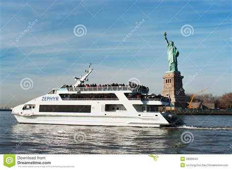 zephyr boat tour luxury yacht zephyr filled with tourists editorial stock