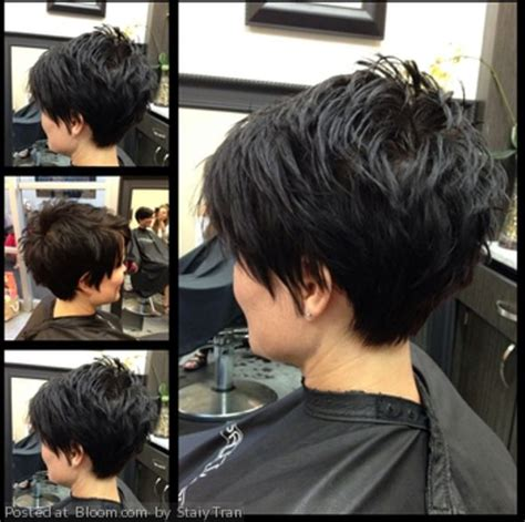 hair ears cut hair great hair cut for thick hair choppy razor layers through