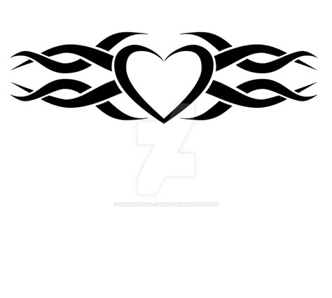 heart tribal tattoo designs tattoos png transparent tattoos png images