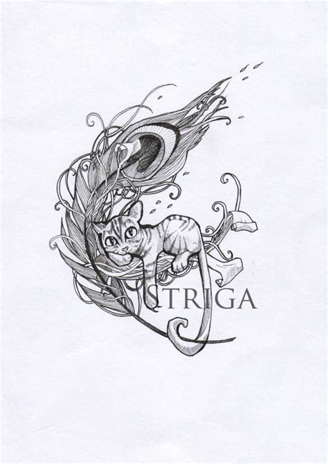 design art tattoo tattoo design kitty by striga art on deviantart