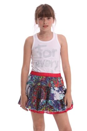 desigual kids mini skirt amay ss2014 41f3162 5072