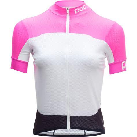 cheap patterned jersey poc avip printed light jersey women s steep cheap