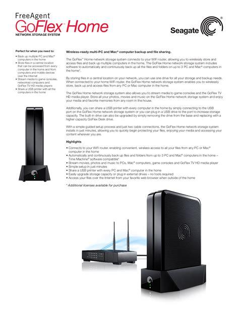 free pdf for seagate freeagent goflex 1tb storage