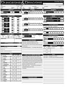 d d 3 5 templates dungeons and dragons character sheet 4th edition www