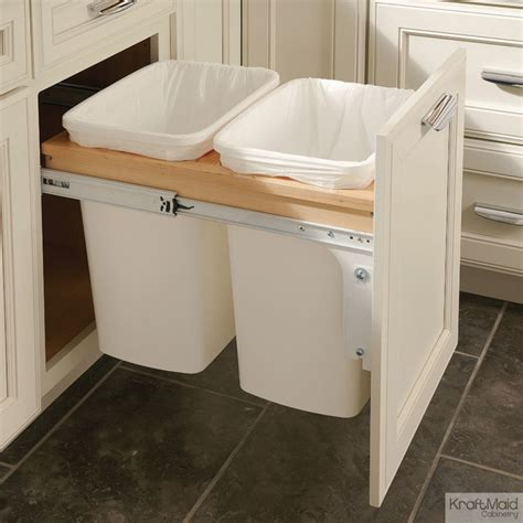 trash cans for kitchen cabinets wastebasket cabinet insert cabinets matttroy