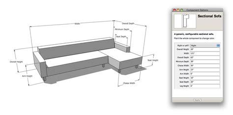 how many meters is a couch the nerdiest sofa shopping tool ever sketchup blog