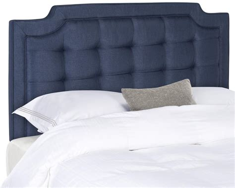 Tufted Linen Headboard by Sapphire Navy Tufted Linen Headboard Headboards