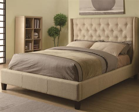 upholstered headboards king size bed king size bed frame with headboard decofurnish