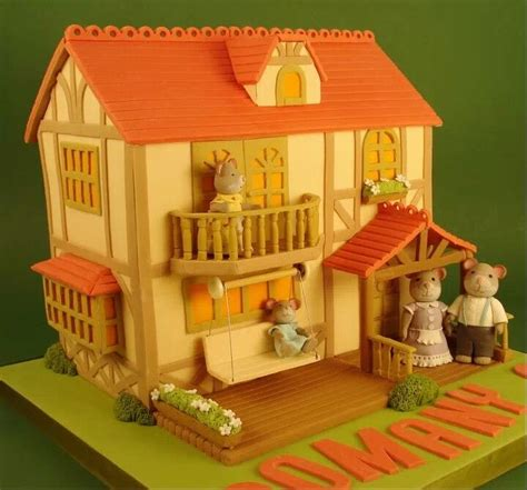 house of cakes house cake pretty cakes pinterest