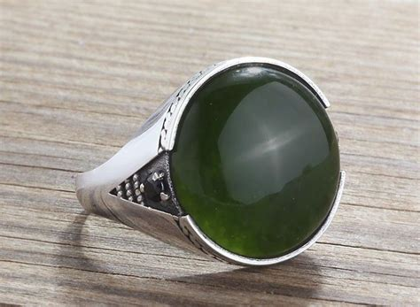 ring black jade jari all size ring 925 sterling silver jade and onyx all