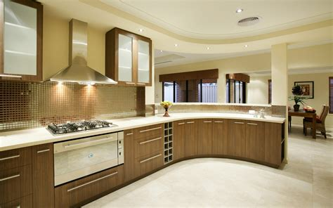 Modern Kitchen Interior Modern Kitchen Interior Design Range Mosaic Backsplash Decobizz