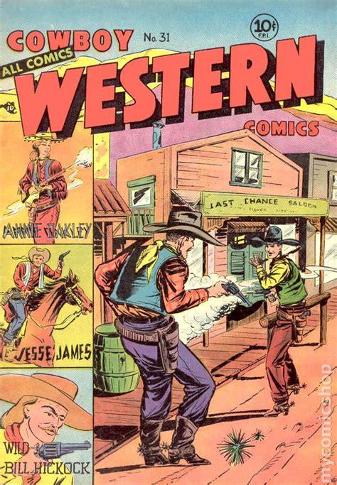 Westerns Graphic Novels Comics Books Cowboy Western Comics 1948 Comic Books