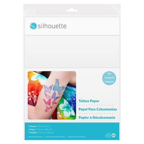 silhouette temporary tattoo paper uk silhouette temporary tattoo paper graphtec gb