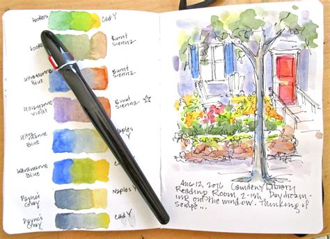 sketchbook how to colors sketchbook wandering studying sketching and watercolor