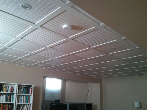 what are suspended ceiling tiles made of www