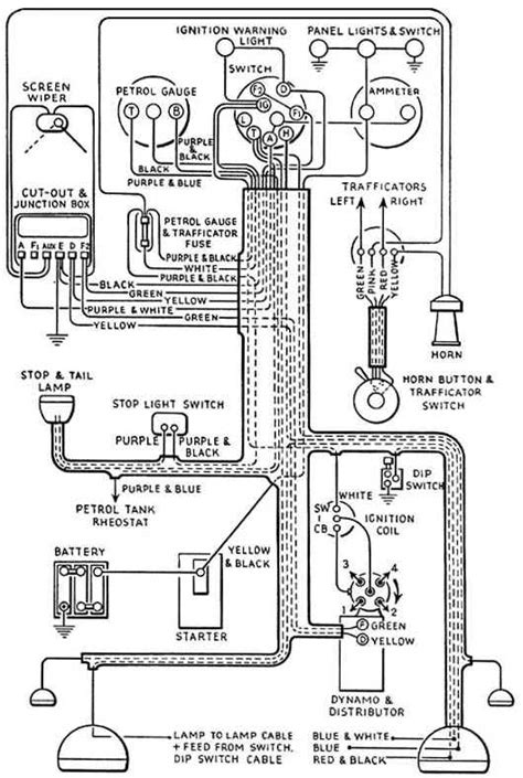 seven wiring drawing