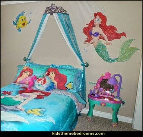 little mermaid bedroom decor decorating theme bedrooms maries manor ariel