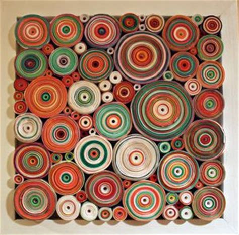 Rolled Paper Crafts - 25 best ideas about rolled paper on