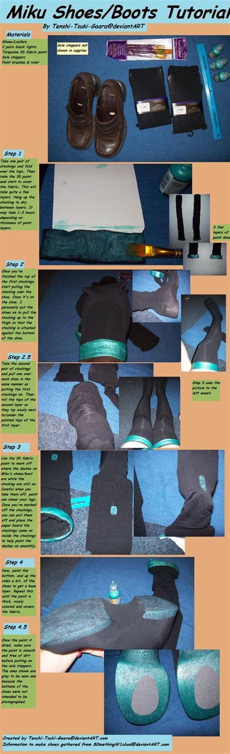 tutorial naruto shoes miku shoes tutorial by tenshi tsuki gaara on deviantart