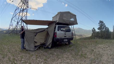 arb awnings setting up arb awning room youtube