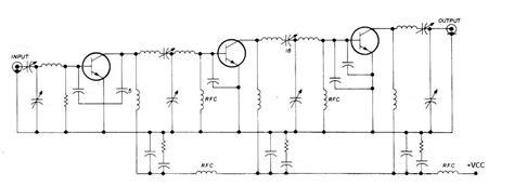 transistor lifier impedance matching litar projek elektronik litar rf power transistor impedance matching network