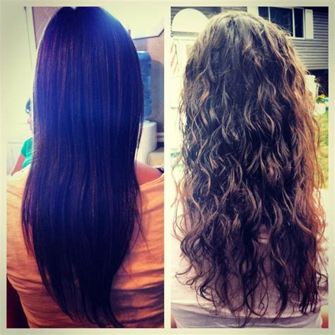 how to treat a new perm 14 best wavy perms images on pinterest body wave perm