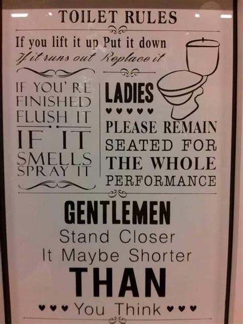 printable toilet quotes toilet rules quotes pinterest toilets