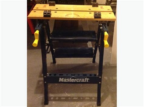 mastercraft work bench new mastercraft workmate folding work table saanich victoria