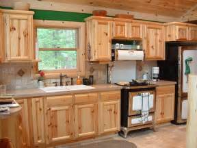 Home Decorating Dilemmas Knotty Pine Kitchen Cabinets Cabinetry Kitchens And Baths Timber Country Cabinetry