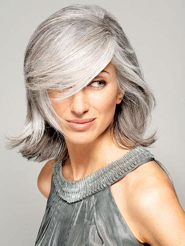 trendy gray hair styles trendy gray hairstyle ideas for a new you wehotflash