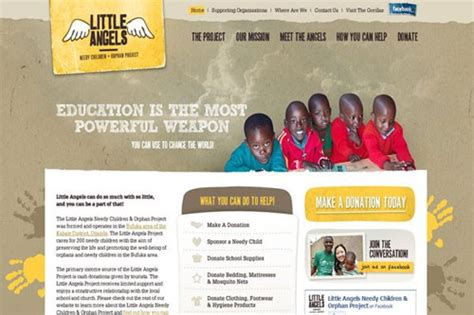 nonprofit web design inspiration 20 inspirational non profit website designs